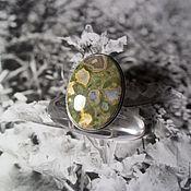 Украшения handmade. Livemaster - original item Jasper ring. Handmade.
