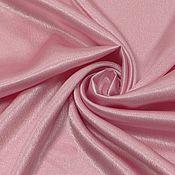 Ткани ручной работы. Ярмарка Мастеров - ручная работа Ткань креп-сатин РОЗОВЫЙ. Handmade.