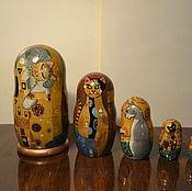 Figurines handmade. Livemaster - original item Cats in the style of Gustav Klimt. Handmade.