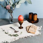 Подарки к праздникам handmade. Livemaster - original item Wooden stand for eggs Siberian Cedar #ES1. Handmade.