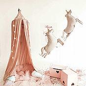 Для дома и интерьера handmade. Livemaster - original item Dusty rose canopy / children`s Tent. Handmade.