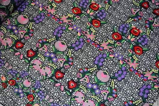 Шитье ручной работы. Ярмарка Мастеров - ручная работа. Купить Кружево VALENTINO ОРИГИНАЛ. Handmade. Итальянские ткани, ткани из италии