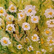 Картины и панно handmade. Livemaster - original item Cheerful daisies 2. Handmade.
