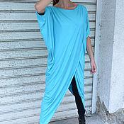 Одежда handmade. Livemaster - original item Summer, stylish tunic short sleeve - TU0573TR. Handmade.