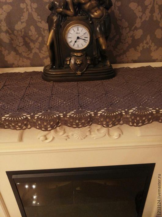 Текстиль, ковры ручной работы. Ярмарка Мастеров - ручная работа. Купить дорожка. Handmade. Коричневый, ирис