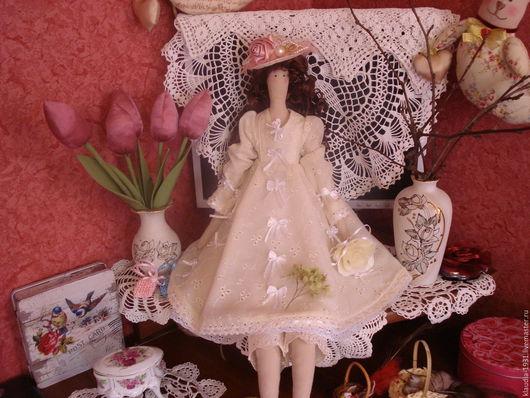 Куклы Тильды ручной работы. Ярмарка Мастеров - ручная работа. Купить кукла с локонами. Handmade. Кукла в подарок, оригинальный подарок