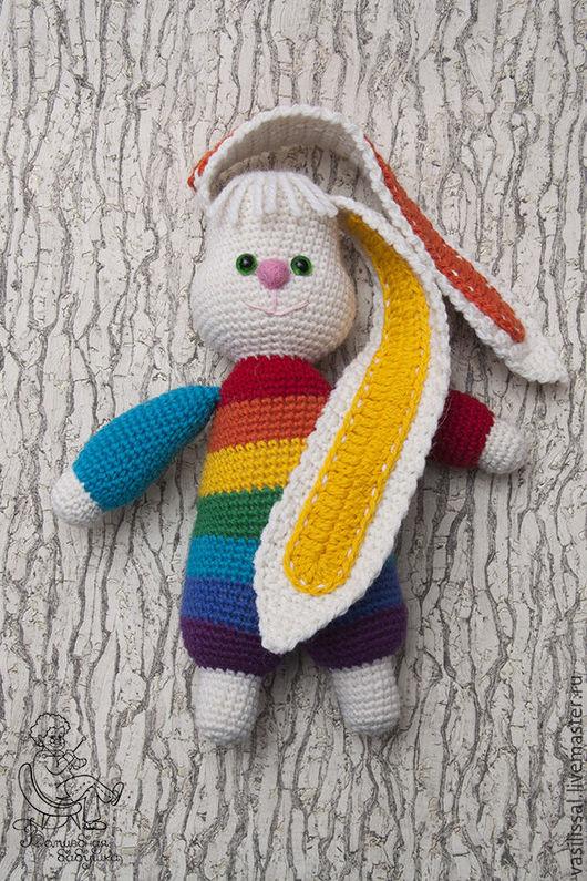 Заяц радужный от Волшебной Бабушки