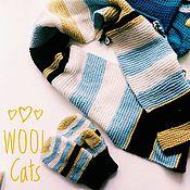 Аксессуары handmade. Livemaster - original item Kit for kids Merino wool scarf hat mittens. Handmade.