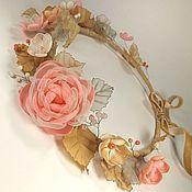 Украшения handmade. Livemaster - original item Breeze of Paradise island. wreath. Handmade flowers from fabric. Handmade.