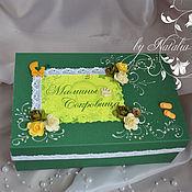 Подарки к праздникам handmade. Livemaster - original item Box to store