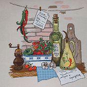 Картины и панно ручной работы. Ярмарка Мастеров - ручная работа Итальянское кафе.. Handmade.
