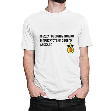 Clothing handmade. Livemaster - original item T-shirt with print