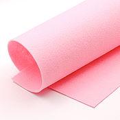 Материалы для творчества ручной работы. Ярмарка Мастеров - ручная работа Корейский мягкий фетр 1,5 мм, ST-03(розовый). Handmade.
