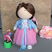 Куклы и игрушки ручной работы. Ярмарка Мастеров - ручная работа Текстильная кукла Alexia. Handmade.