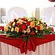 Оформление свадьбы в стиле путешествия. Композиция на стол молодоженов - 8300 рублей.