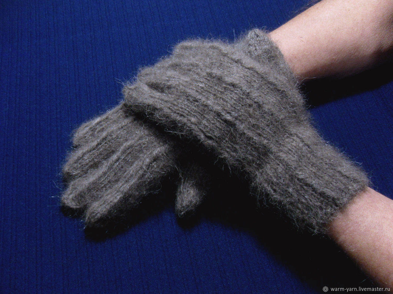 Men's knitted gloves, Gloves, Klin,  Фото №1