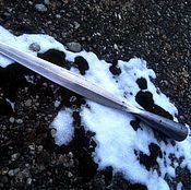 Сувениры и подарки handmade. Livemaster - original item The tip of a battle spear of the Early middle Ages. Handmade.