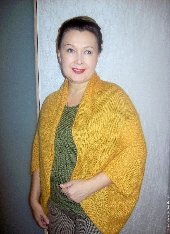 Вязание болеро и накидка