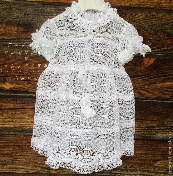Lace dress for girls 2, Childrens Dress, Moscow,  Фото №1