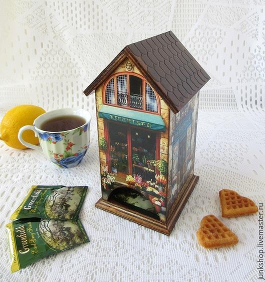 """Кухня ручной работы. Ярмарка Мастеров - ручная работа. Купить Чайный домик """"Вспоминая Париж"""". Handmade. Чайный домик, Кафе"""
