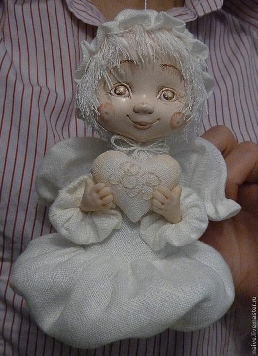 """Коллекционные куклы ручной работы. Ярмарка Мастеров - ручная работа. Купить Ангел """"ОБЛАЧКО"""". Handmade. Кукла ручной работы, кукла"""