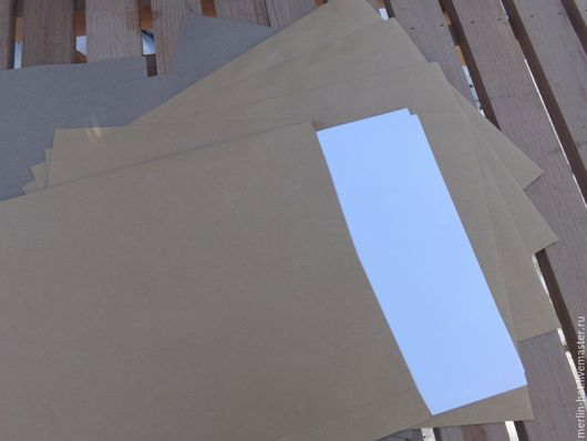 Упаковка ручной работы. Ярмарка Мастеров - ручная работа. Купить Крафт конверт C4 (229x324мм). Handmade. Крафт, крафт-конверт