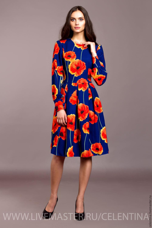 Яркое красивое платье фото
