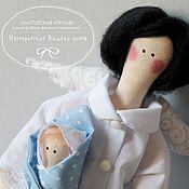 Куклы и игрушки ручной работы. Ярмарка Мастеров - ручная работа Врач в стиле Тильда. Handmade.