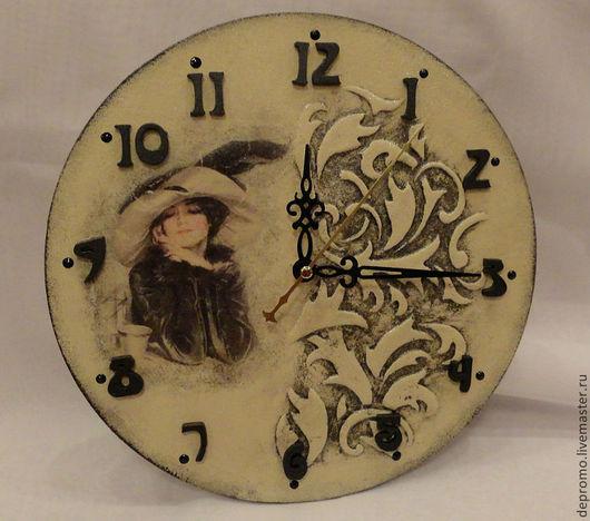 Часы для дома ручной работы. Ярмарка Мастеров - ручная работа. Купить Часы РЕТРО. Handmade. Часы, часы настенные