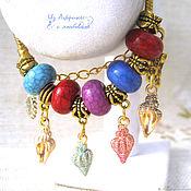 """Украшения handmade. Livemaster - original item Европейский браслет  """"На память об отпуске"""" золотой. Handmade."""