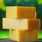 Косметика ручной работы. Ярмарка Мастеров - ручная работа Сливочное мыло « Топлёное молоко с мёдом ». Handmade.