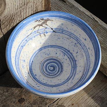 Посуда ручной работы. Ярмарка Мастеров - ручная работа Пиала Лось. Handmade.
