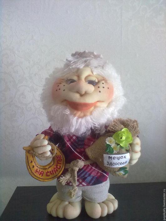 Куклы тыквоголовки ручной работы. Ярмарка Мастеров - ручная работа. Купить Домовой. Handmade. Кукла, оберег, смешной подарок, домовой