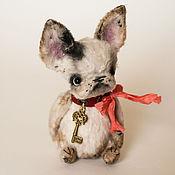 Куклы и игрушки ручной работы. Ярмарка Мастеров - ручная работа Французский бульдог,  Фаня. Handmade.