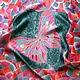 """Шали, палантины ручной работы. Ярмарка Мастеров - ручная работа. Купить Платок батик """"Розово-серая мозаика"""". Handmade."""