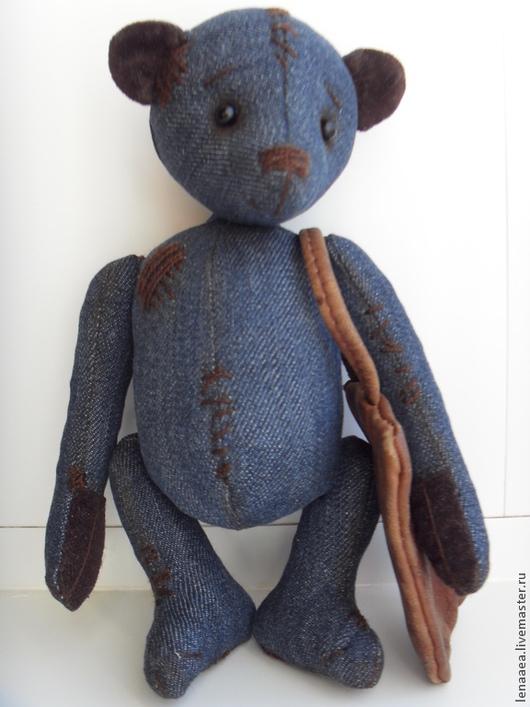 Мишки Тедди ручной работы. Ярмарка Мастеров - ручная работа. Купить Виталик чердачный мишка. Handmade. Мишка тедди