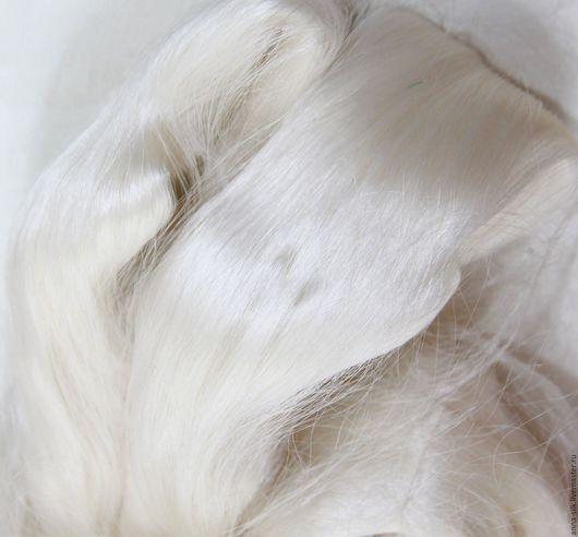 Ярмарка Мастеров. Купить шелковые волокна MULBERRY (42 Denier) для валяния. Шелковые волокна малбери.  Материалы для творчества. Натуральный 100% шелк MULBERRY. Шелковые волокна для валяния малбери.