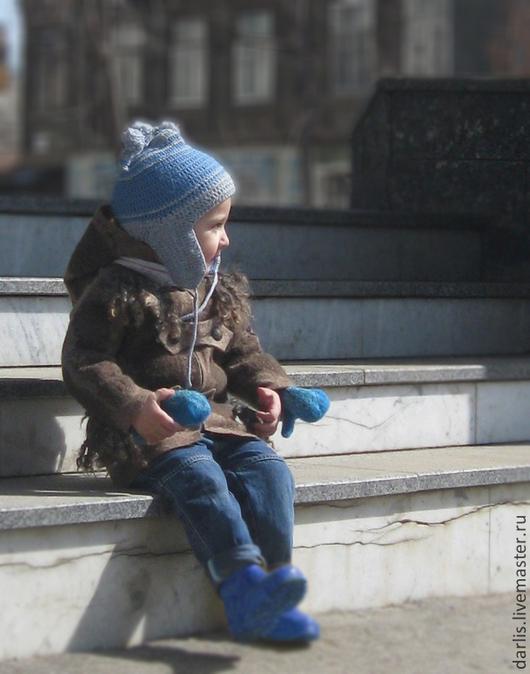Верхняя одежда ручной работы. Ярмарка Мастеров - ручная работа. Купить Пальтишко для малыша. Продано.. Handmade. Коричневый, пальто для мальчика