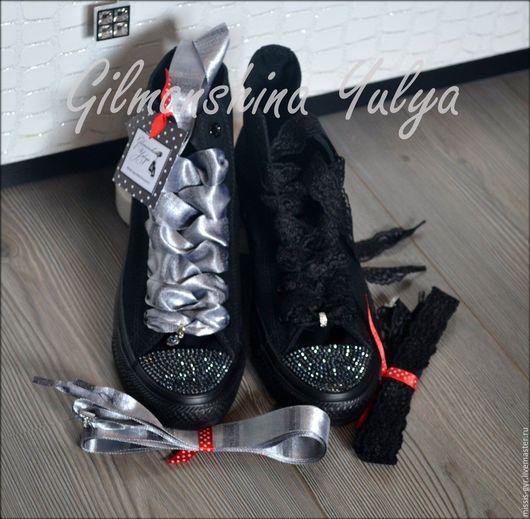 Обувь ручной работы. Ярмарка Мастеров - ручная работа. Купить Популярные. Handmade. Черный, черный цвет, для фотосессии