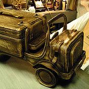Музыкальные инструменты handmade. Livemaster - original item GRAMOPHONE TRUCK. Handmade.