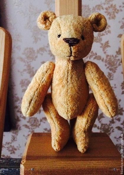 Мишки Тедди ручной работы. Ярмарка Мастеров - ручная работа Мамина радость.... Handmade.