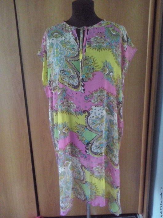 Платья ручной работы. Ярмарка Мастеров - ручная работа. Купить Пляжные платья. Handmade. Комбинированный, платье, пляжная одежда
