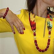 Necklace handmade. Livemaster - original item Necklace-transformer