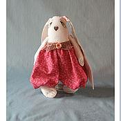 Куклы и игрушки ручной работы. Ярмарка Мастеров - ручная работа Интерьерная Текстильная Игрушка Заюшка. Handmade.