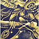 Для мужчин, ручной работы. Дух предков. Ручная роспись мужской футболки. Ручная роспись -КукумявкА-. Ярмарка Мастеров. Фото №4
