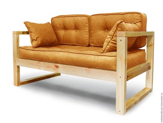 Мебель ручной работы. Ярмарка Мастеров - ручная работа. Купить Диван Aster. Handmade. Мебель из сосны, дизайнерская ткань