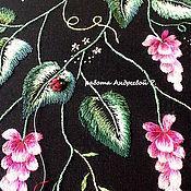 Одежда ручной работы. Ярмарка Мастеров - ручная работа Вышивка на одежде(выкройках). Handmade.