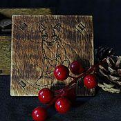 """Фен-шуй и эзотерика ручной работы. Ярмарка Мастеров - ручная работа Набор рун """"Вещий лис"""". Handmade."""