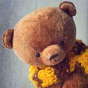 Куклы и игрушки ручной работы. Ярмарка Мастеров - ручная работа Авторский Мишка тедди Ханни. Дом нашел. Handmade.