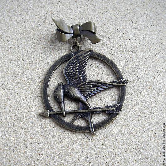"""Брошь Сойка-пересмешница из фильма """"Голодные игры"""" (Hunger Games)"""